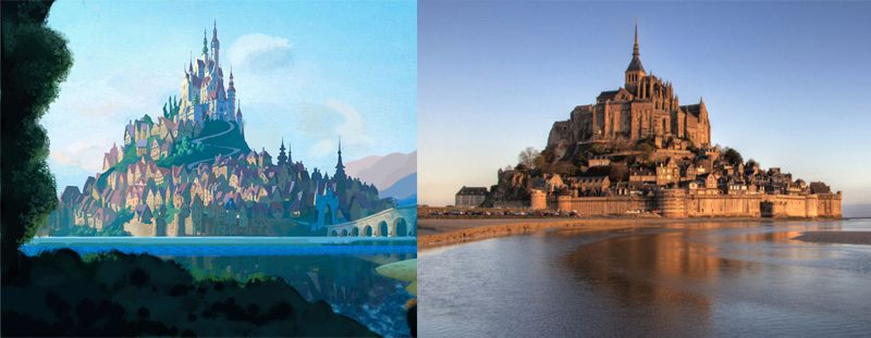 Real-world locations that inspired Disney movies | Thriving